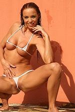 White hot bikini 10