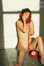 Sunny on the Phone 13