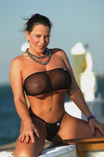 See trough black bikini 06