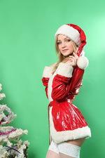 Naked Santa?s girlfriend Gerda is in town. 00