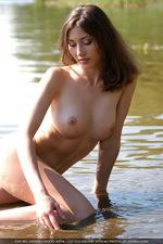 Curious brunette Katya 02