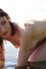 Curious brunette Katya 04