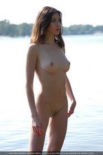Curious brunette Katya 09