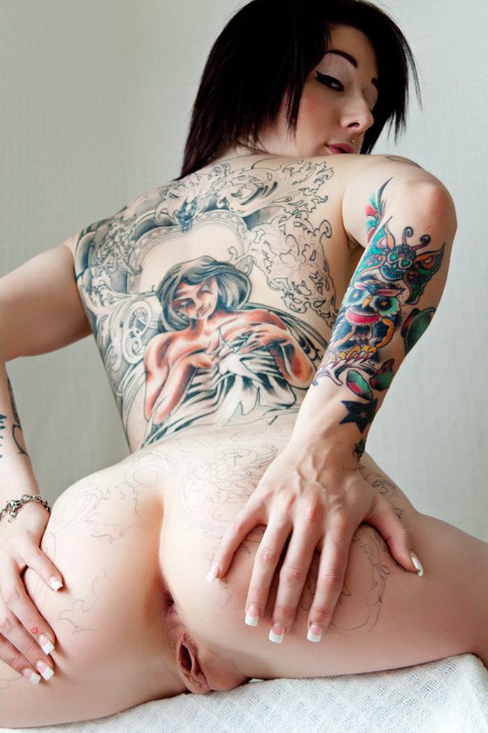 Порно фото девушек с татуировкой 47893 фотография