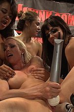 The top industry babes fist, machine fuck 13