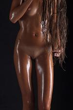 Sofia's tight, sun-bronzed skin 06