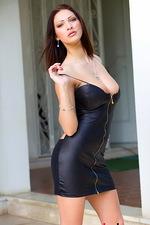 Selena - Black Tight Dress 03