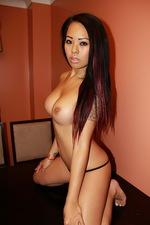Gold Bling Bikini Striptease 10