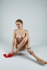 Sofi - Red socks  00