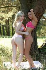 Angie and Devi Lingerie  00