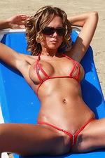 Pammy In Sexy Zipp Bikini 05