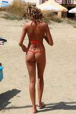 Pammy In Sexy Zipp Bikini 12