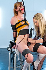 Ginger submissive gets electro-trained 01