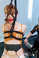 Ginger submissive gets electro-trained 09