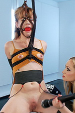 Ginger submissive gets electro-trained 14