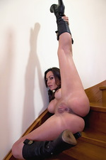 Sexy Gina in her hot boots 12