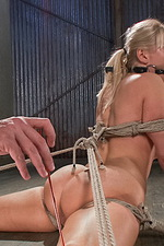 Super hot blonde is bound and tormented 03