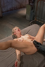 Super hot blonde is bound and tormented 05