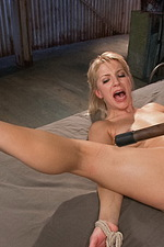 Super hot blonde is bound and tormented 08