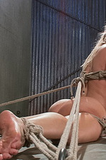 Super hot blonde is bound and tormented 12