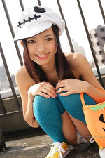 Aino Kishi Showing Some Skin 09