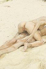 Flora and Zaika Sandy Seduction  16