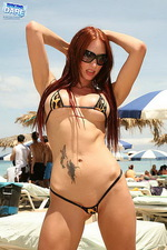 Leopard printed bikini 00