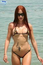 Leopard printed bikini 08