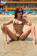 Leopard printed bikini 12