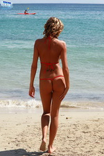 Hottest red bikini 01