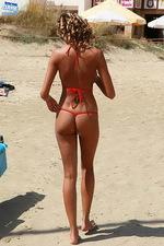 Hottest red bikini 12
