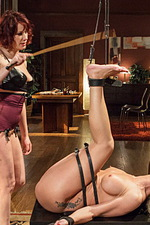Maitresse dominates desperate MILF  03