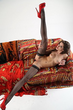 Little Caprice Colorful Couch  12