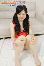 Hottie Haruka posing in sexy panties  11