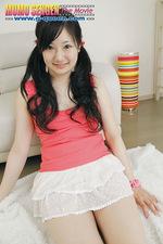 Hottie Haruka posing in sexy panties  12