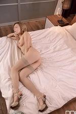 Karina stripping and playing 10