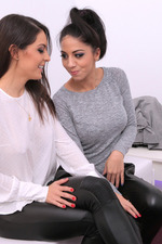 Carolinaa Bril And Her Sexy Lesbian Girlfriend 03
