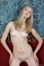 Sexy Blonde Zemira Poses Naked 10