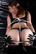 Vicky Lycra Bondage 14