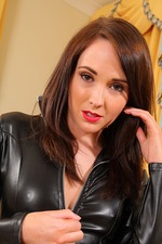 Tammy In Leather Catsuit 03