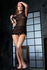 Sweet-faced Russian Brunette Nikia 02
