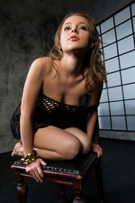 Sweet-faced Russian Brunette Nikia 06
