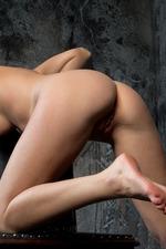 Sweet-faced Russian Brunette Nikia 14