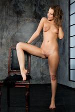 Sweet-faced Russian Brunette Nikia 15