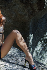 Smoldering-hot Redhead Lesma 02