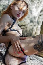 Smoldering-hot Redhead Lesma 05