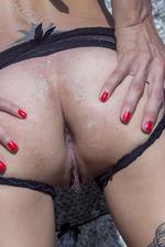 Smoldering-hot Redhead Lesma 16