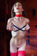 Noelia Could Totally Kick Her Bondage Habit 03