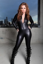 Maddy Oreilly In Black Latex 00