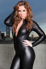 Maddy Oreilly In Black Latex 01